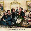 Una familia modelo. La Flaca 20-2-1870
