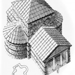 Reconstrucción de la Sinagoga de Sádaba