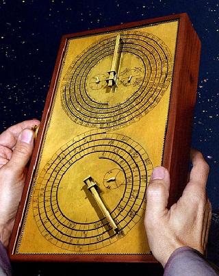 La sabidur a de la antig edad el mecanismo de anticitera hist rico digital - Mecanismo para reloj de pared ...