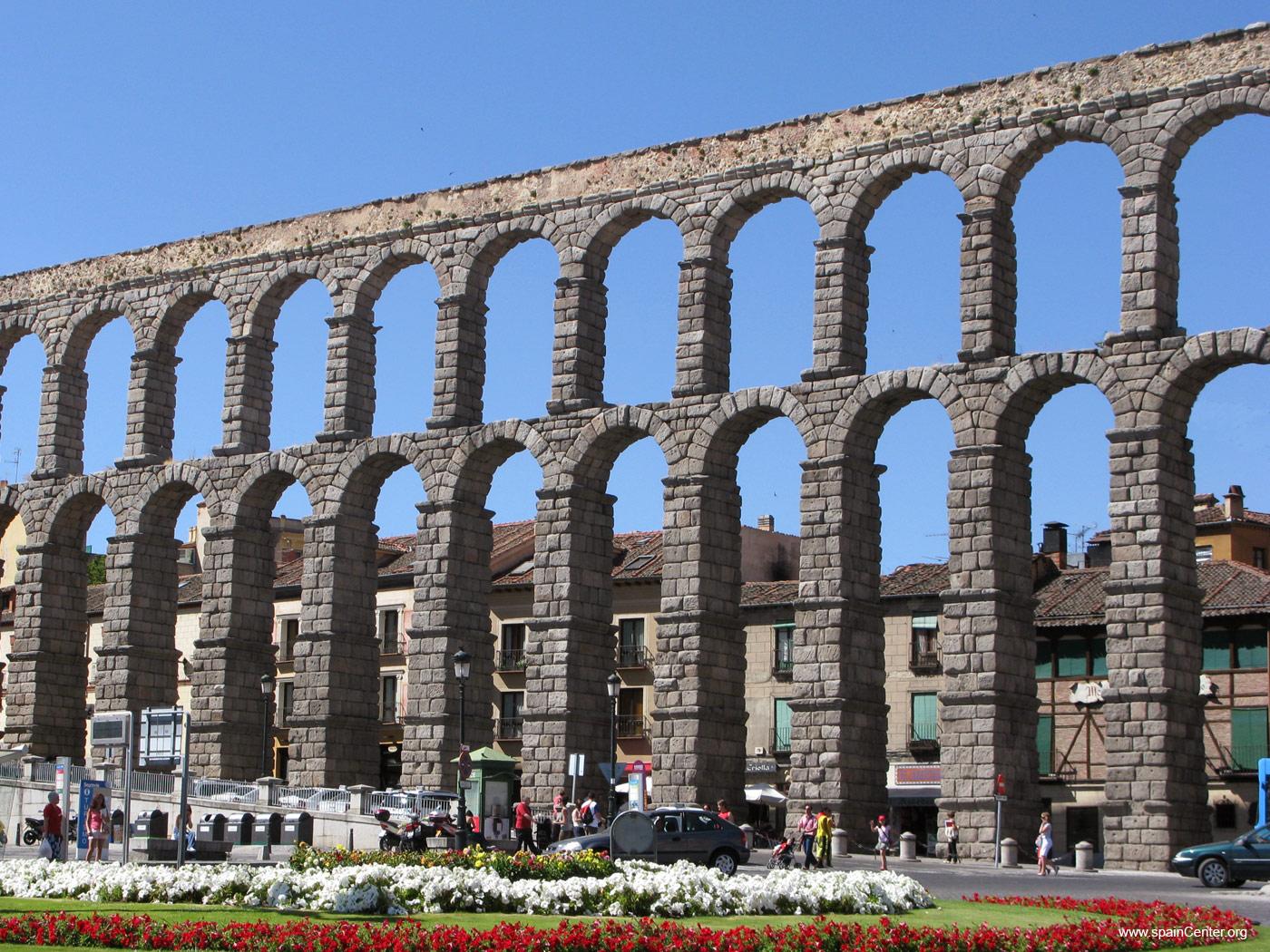 Aqua el abastecimiento de agua en las ciudades romanas hist rico digital - Acueducto de segovia arquitectura ...
