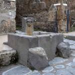 Fuente pública en Pompeya