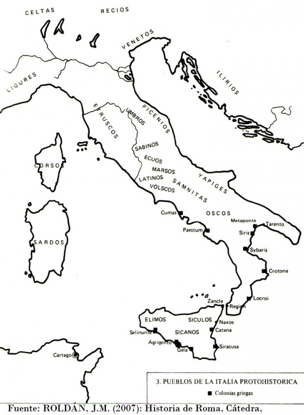 Pueblos de la Italia protohistórica