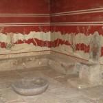 Sala del trono de Cnossos