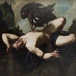 Theodor Rombouts,  Prometheus,  Óleo sobre lienzo, Museos Reales de Bellas Artes de Bélgica.