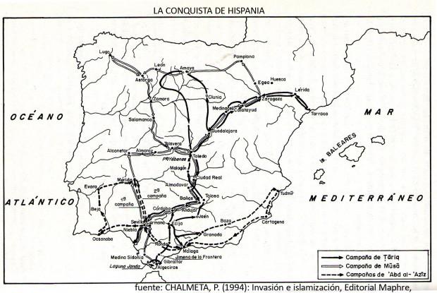 La conquista Hispania