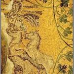 Cristo como Helios o dios del Sol (tumba B del antiguo cementerio de la Basílica de San Pedro en el Vaticano)