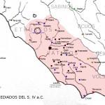 El Lacio a mediados del siglo IV a.C.