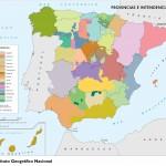 Provincias e intendencias en 1789