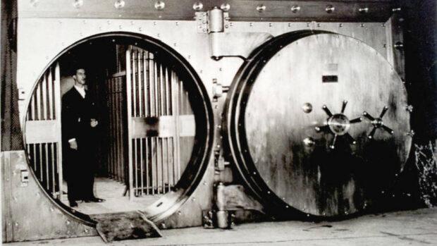 Cámara del Banco de España en los años treinta