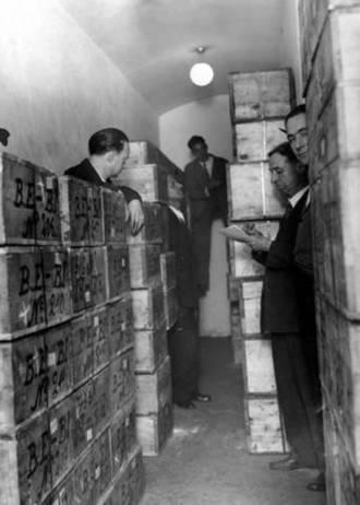 Traslado de las reservas de oro