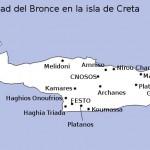 Yacimientos de la Edad del Bronce en la isla de Creta