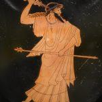 Ánfora griega con la representación de Zeus. Museo Británico (4)